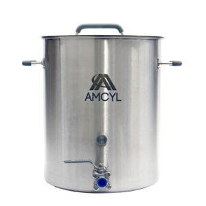 All Safe Global 10 Gallon Brew Kettle Stainless Steel