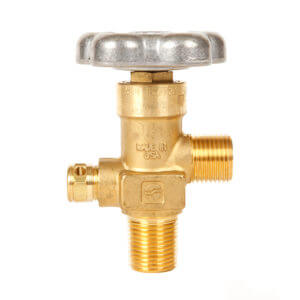All Safe Global Sherwood CGA320 CO2 Valve One Half Inch NGT