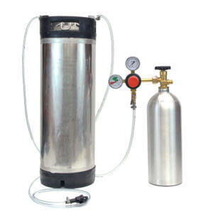 All Safe Global Keg Kit 2 Reconditioned 5 Gallon Ball Lock Keg 5 Lb CO2