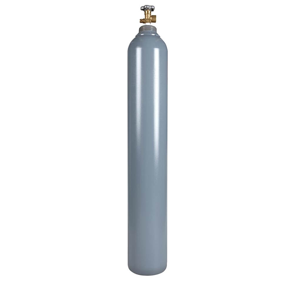 All Safe Global 125 Cubic Foot Steel Industrial Compressed Gas Cylinder