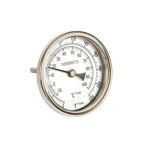 All Safe Global Dial Thermometer Short Stem
