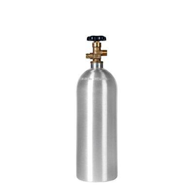 All Safe Global 15 lb CO2 Cylinder Aluminum