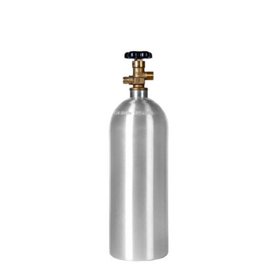 All Safe Global 15 lb CO2 Cylinder Aluminum