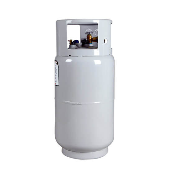 All Safe Global 33.5 lb Steel Forklift Propane Cylinder