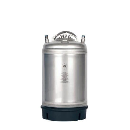 All Safe Global AMCYL Single Handle 3 Gallon Ball Lock Keg