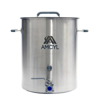 All Safe Global 10 Gallon Stainless Steel Brew Kettle