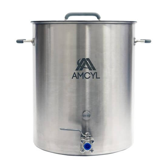 All Safe Global 15 Gallon Brew Kettle Stainless Steel