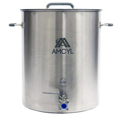 All Safe Global 20 Gallon Stainless Steel Brew Kettle