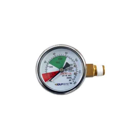 All Safe Global 2000 PSI Regulator Replacement Gauge