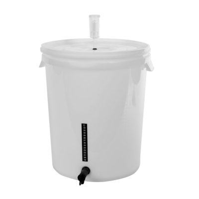 All Safe Global 30 Liter Pail Homebrew Pail Fermenter