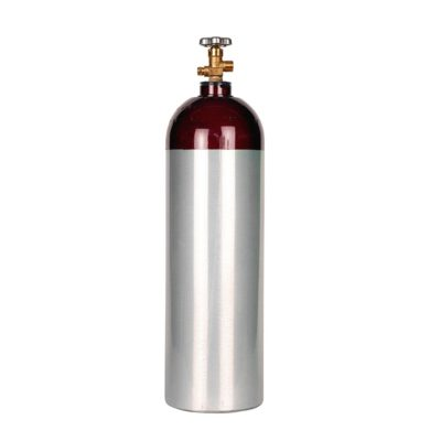All Safe Global 60 Cubic Foot Industrial Aluminum Compressed Gas Cylinder