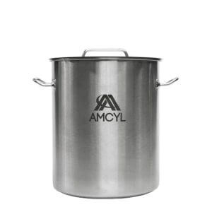 All Safe Global 8 Gallon Brew Kettle Stainless Steel