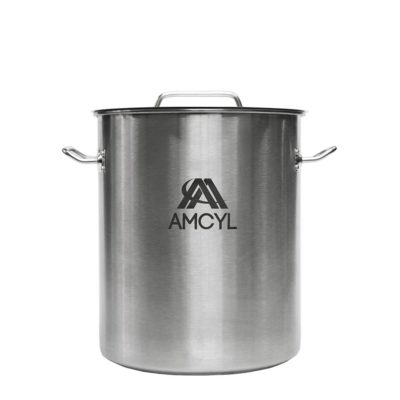All Safe Global 8 Gallon Stainless Steel Brew Kettle