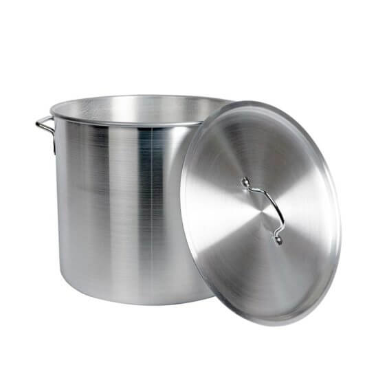 All Safe Global Aluminum Nested Brew Pot Set Lid