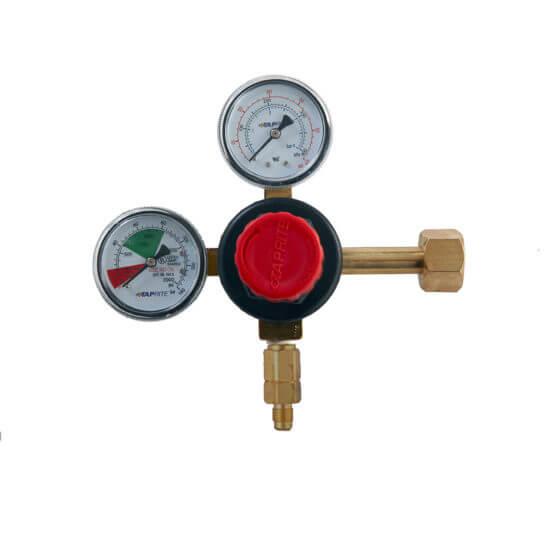 All Safe Global CO2 Regulator MFL Outlet No Shutoff