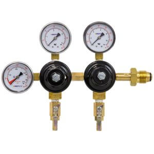 All Safe Global Dual Body Triple Gauge Nitrogen Regulator