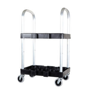 All Safe Global Rack and Roll Medical Oxygen Cylinder Cart