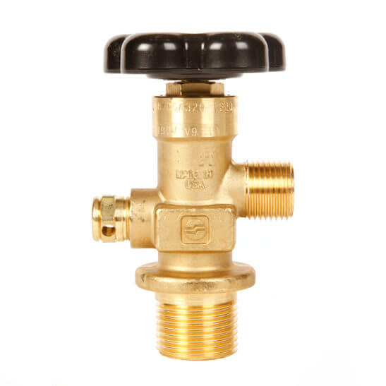 All Safe Global Sherwood CGA320 CO2 Valve 1.125 Inch UNF