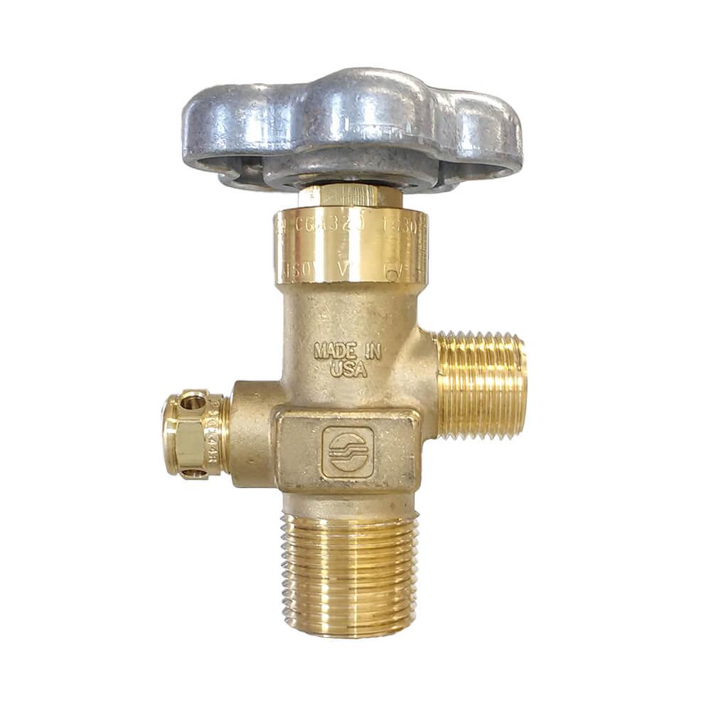 "Denver News Gas Leak: CGA320 CO2 Valve - 3/4"" NGT 3000 PSI"