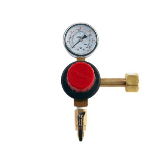 All Safe Global Single Gauge CO2 Regulator MFL