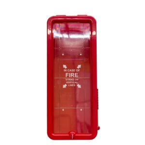 10 lb Fire Extinguisher Cabinet Red