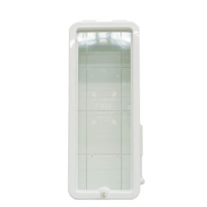 10 lb Fire Extinguisher Cabinet White