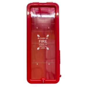 20 lb Fire Extinguisher Cabinet Red