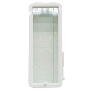 20 lb Fire Extinguisher Cabinet White
