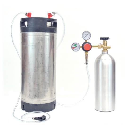 All Safe Global Keg Kit 8 New 5 Gallon Ball Lock Keg New 22 Cu Ft Nitrogen Tank