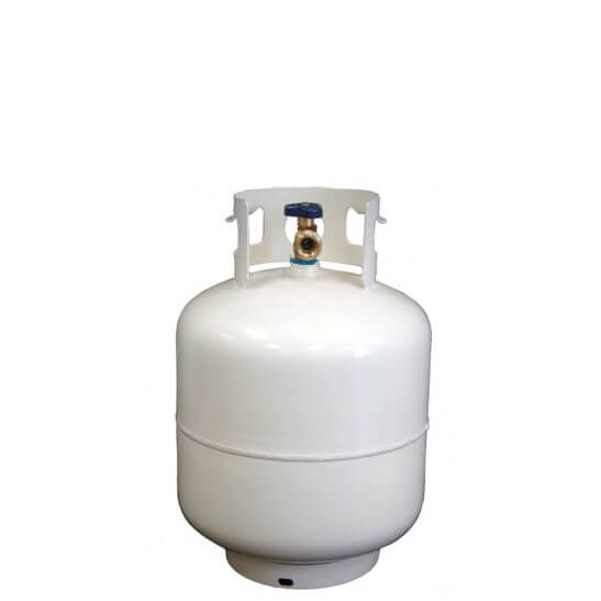 All Safe Global reconditioned 20 lb steel LP/propane cylinder