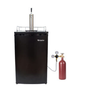 All Safe Global Sankey Kegerator Kit 2 20 CF Nitrogen Cylinder
