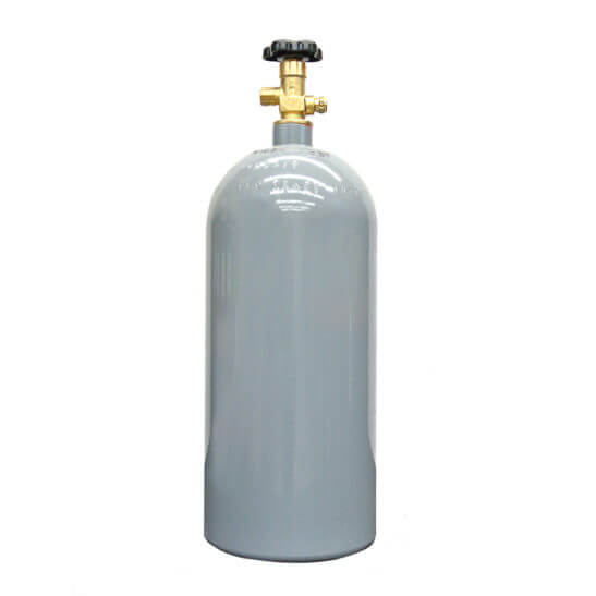 All Safe Global Reconditioned 10 lb Aluminum CO2 Cylinder