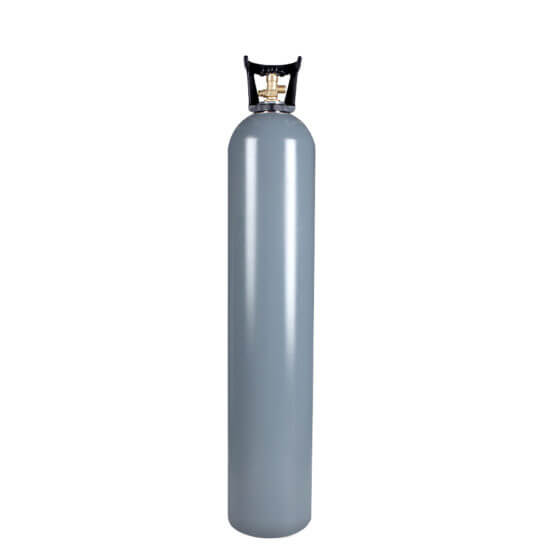 All Safe Global Reconditioned 35 Lb Aluminum CO2 Cylinder