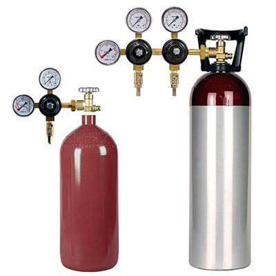 All Safe Global Cold Brew Coffee and Nitro Coffee Gas Cylinders Regulators
