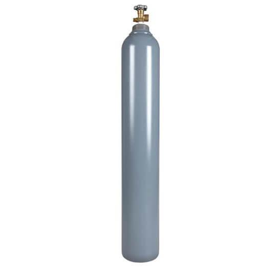 All Safe Global 125 Cubic Foot Steel Industrial Compressed Gas Cylinder
