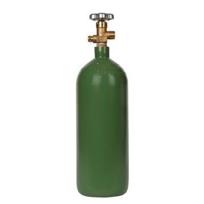 All Safe Global 20 Cubic Foot Steel Industrial Compressed Gas Cylinder