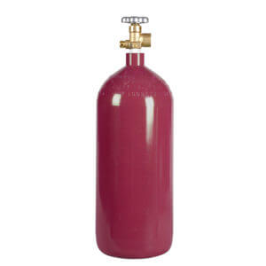 All Safe Global 40 Cu Ft Nitrogen Argon Helium Inert Gas Cylinder CGA580 Valve