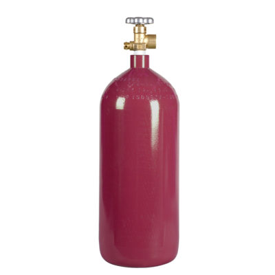 All Safe Global 40 Cu Ft Nitrogen Argon Helium Inert Gas Cylinder CGA580 Valve