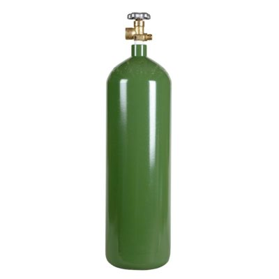 All Safe Global 60 Cubic Foot Steel Industrial Compressed Gas Cylinder