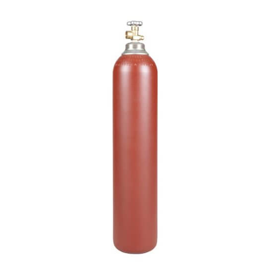 All Safe Global 80 Cubic Foot Steel Industrial Compressed Gas Cylinder