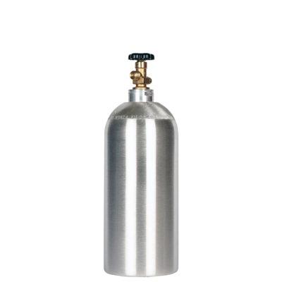 All Safe Global New 10 lb CO2 Cylinder Aluminum