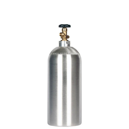 All Safe Global New 10 lb CO2 Cylinder Aluminum