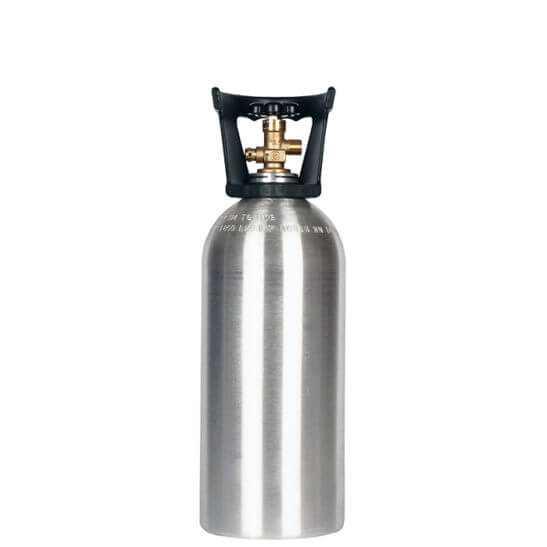 All Safe Global New 10 lb CO2 Cylinder with Handle Aluminum