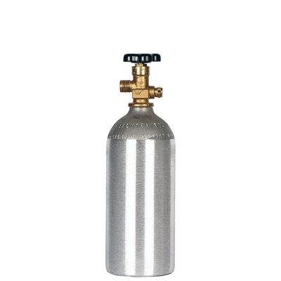 All Safe Global 2.5 lb CO2 Cylinder Aluminum