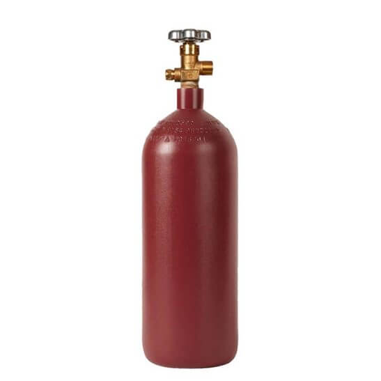 All Safe Global 20 Lb Industrial Steel CO2 Cylinder