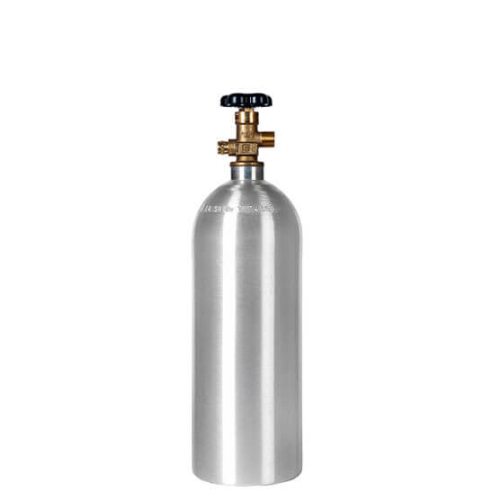 All Safe Global 5 Lb CO2 Cylinder Aluminum