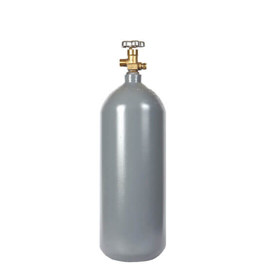 All Safe Global Reconditioned 5 lb CO2 Steel