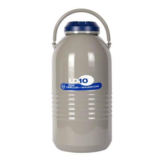 All Safe Global 10 Liter Liquid Nitrogen Dewar