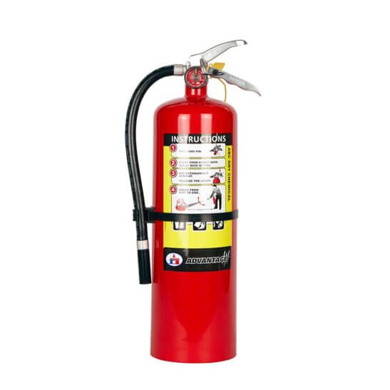 All Safe Global 10 lb ABC Dry Chemical Fire Extinguisher