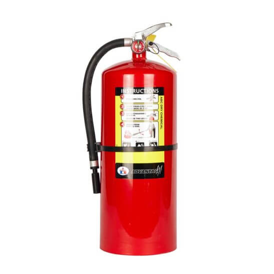 All Safe Global 20 lb ABC Dry Chemical Fire Extinguisher